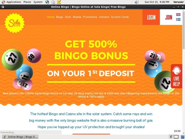 Solabingo Pounds No Deposit