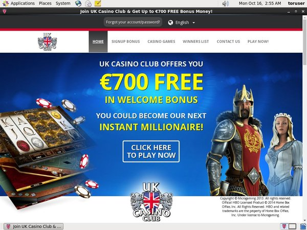 UK Casino Club Comps