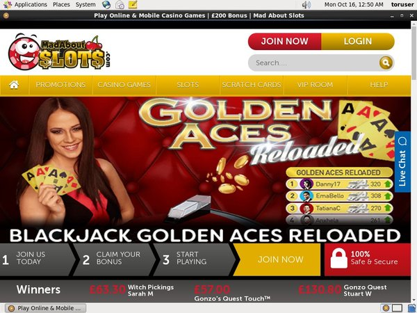 Mad About Slots New Customer Promo