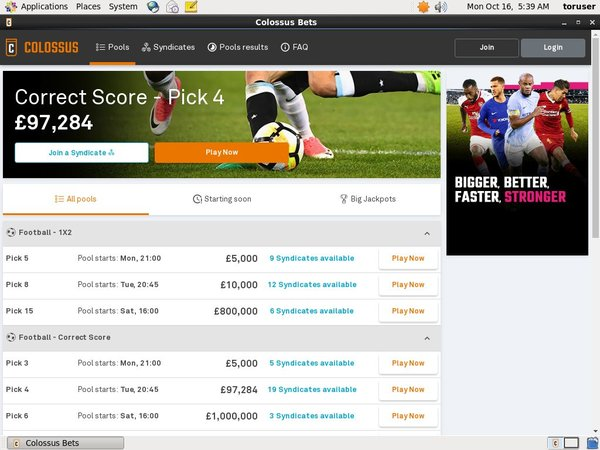 Colossusbets Join Free Bet