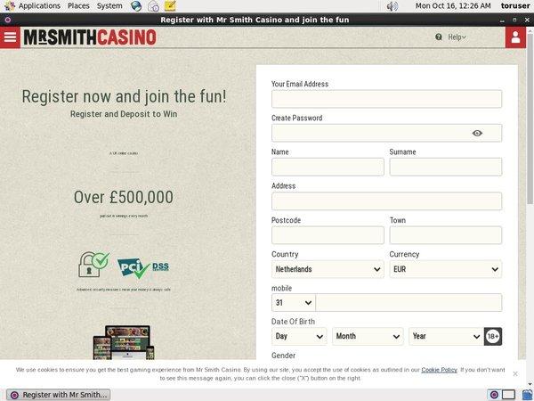 Mr. Smith Casino Vs Ladbrokes