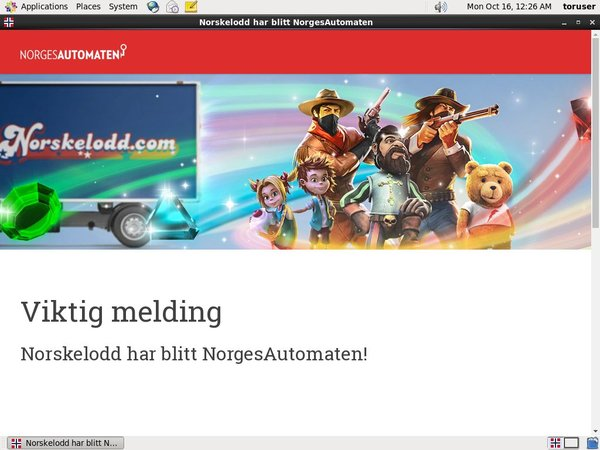 Norskelodd Welcome Bonus Offer