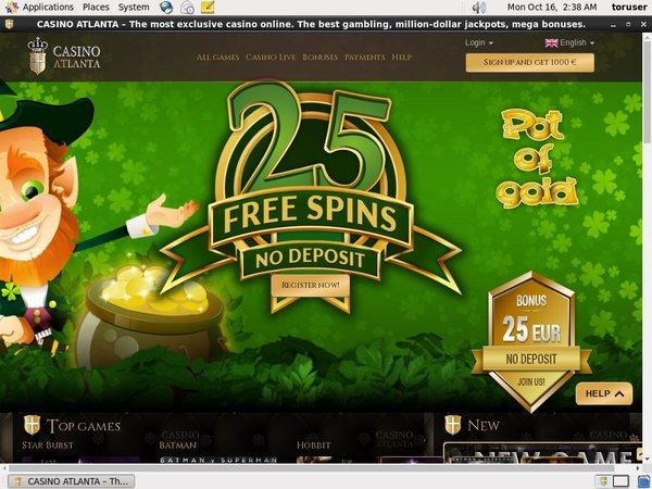 Casinoatlanta Bonus Code 2016